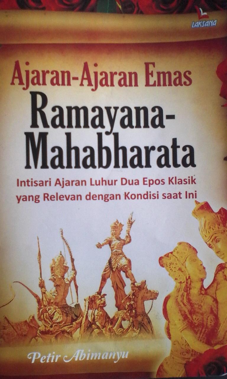 Berguru Pada Epos Ramayana Dan Mahabharata Koran Madura