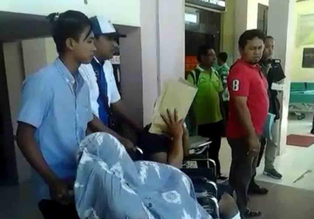 Dua Tersangka Kurir Sabu 8,75 Kg Dipindahkan ke Sel Polres