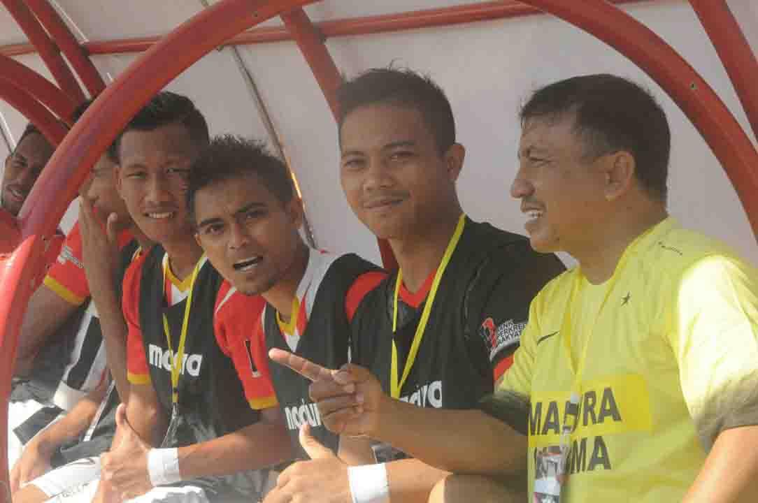 Pelatih Persepam MU Bakal Terapkan Formasi 4-2-3-1 di Babak Playoff