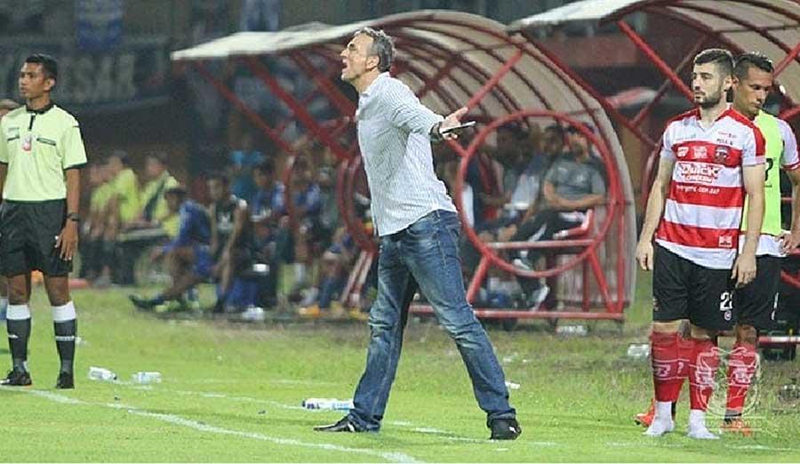 Milo Optimis Madura United Kalahkan Arema FC