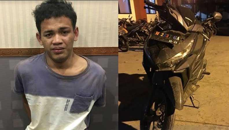 Nahas, Kakak Beradik di Bangkalan Menjambret Ponsel dan Terperosok ke Selokan
