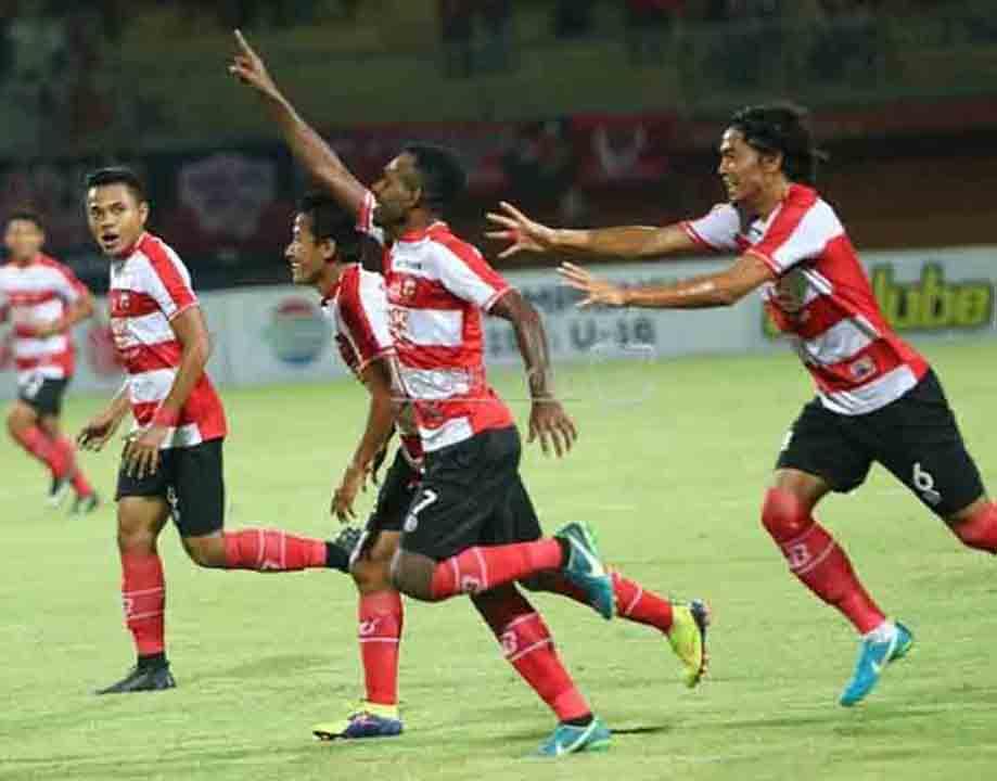 18 Pemain Madura United Siap Tempur Lawan Barito Putera