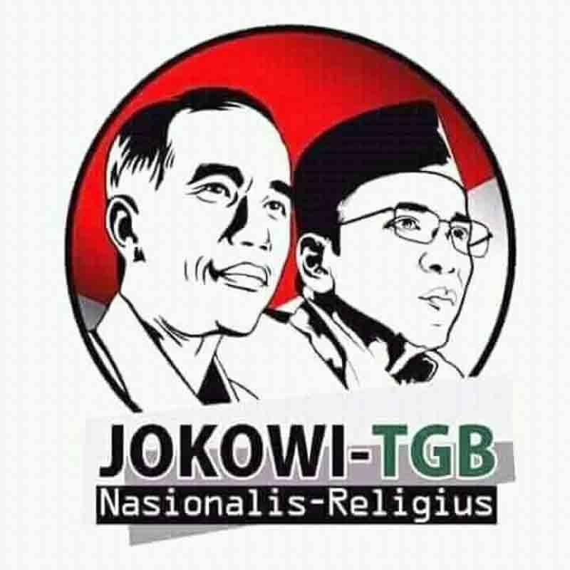 Pasca Pernyataan Dukungan Kini Muncul Poster Jokowi Tgb Koran