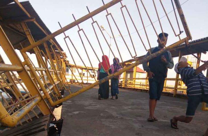 Anggota Komisi III Minta Dermaga I Pelabuhan Kalianget Segera Diperbaiki