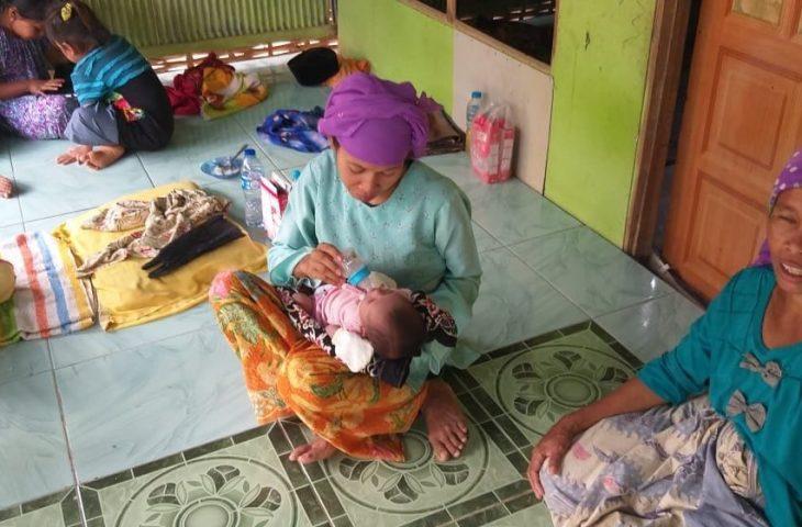 Warga Desa Bulmatet Digegerkan Penemuan Bayi Laki-laki di Semak Belukar