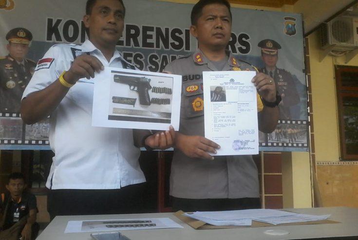 Pistol Baretta yang Dipakai untuk Tembak Subaidi Seharga Rp 5 Juta