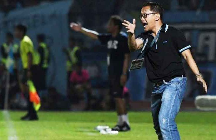Madura United Versus Persela Lamongan, Aji Santoso Puji Fabiano Beltrame dkk