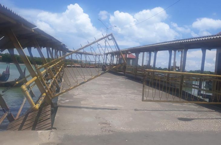 Dermaga Pelabuhan Kalianget Rusak Parah, Tanggung Jawab Siapa?