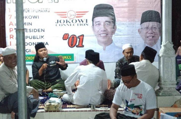 Kiai Muda di Sumenep Sampaikan Alasan Kenapa Masyarakat Harus Memilih Jokowi-Ma'ruf