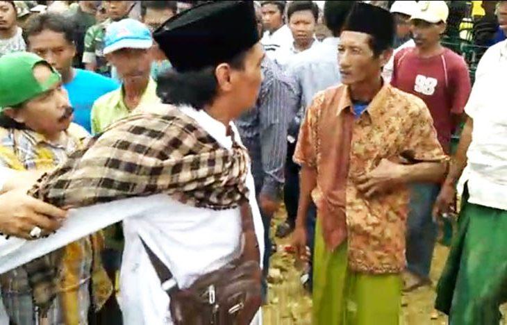 Ricuh Penghitungan Surat Suara Pilkades Paw Gunung Maddah