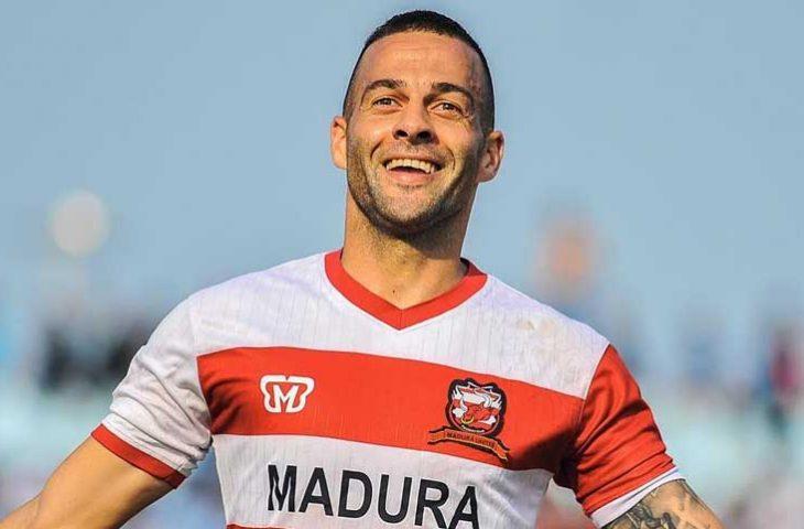 Aleksandar Rakic Jadi Tumbal Kemenangan Madura United dari Persela