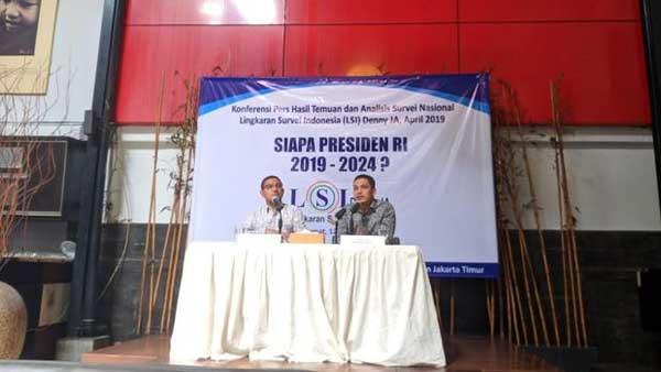 Berdasar Hasil Survei LSI Denny JA, Jokowi di Ambang Menang Telak