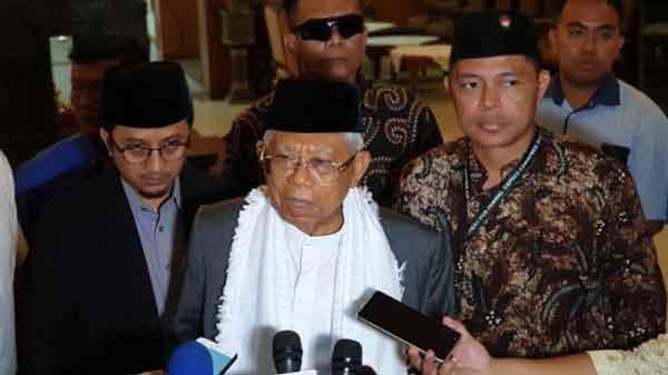 KH Maruf Amin Optimistis Raih 58 Persen Suara di Pilpres