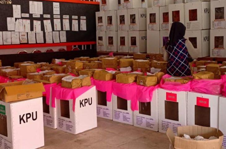 H-2 Pemilu 2019, Logistik untuk TPS Tambahan Belum Didistribusikan