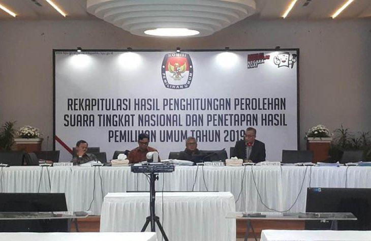 Hasil Rekapitulasi KPU Jatim, Jokowi Peroleh 16 Juta Suara