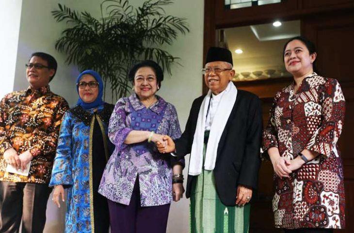 Bertemu Megawati, Ini yang Dibahas Ma'ruf Amin