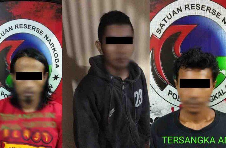 Bulan Ramadan, Polres Bangkalan Ringkus 3 Orang Pemilik Narkoba