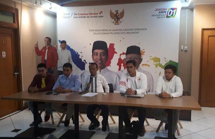 Jokowi-Ma'ruf Amin Diklaim Menangkan Suara Pemilih Milenial di Pilpres 2019
