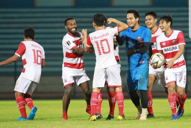 Madura United Gelar Laga Uji Coba Sebelum Tempur Lawan Persebaya Surabaya