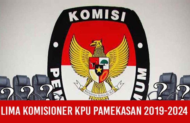 Lima Komisioner KPU Pamekasan 2019-2024 Diisi Wajah Baru