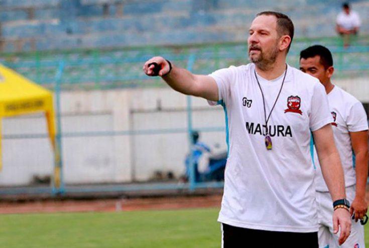 Jumpa PSS Sleman, Dejan Ingin Bawa Madura United Ke Puncak Klasemen Sementara