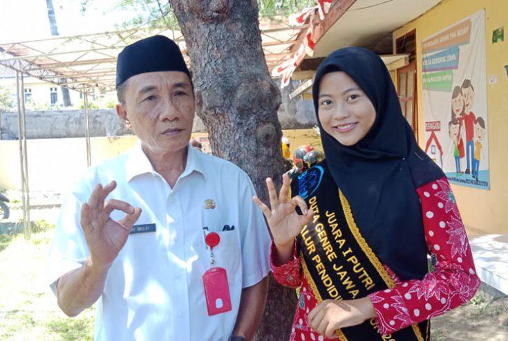 Nabila Maya Faisa, Perempuan Cantik Asal Sumenep ini Juara I Duta GenRe Putri Tingkat Provinsi Jatim