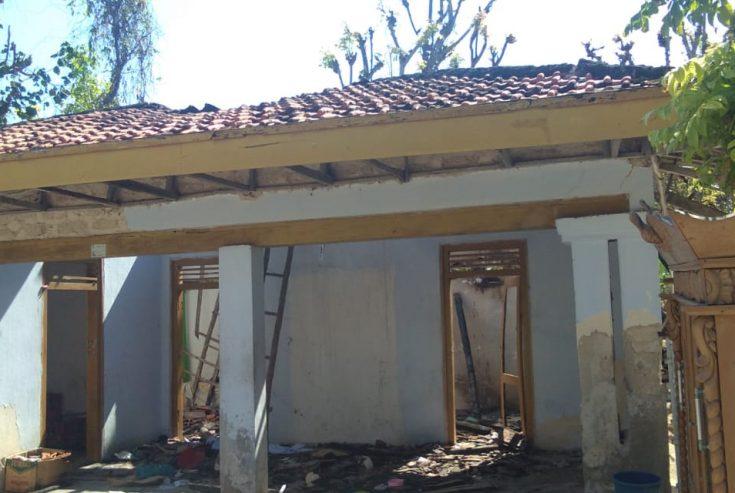 Rumah Keluarga Kades Jate Nonaktif Dilahap Api, Ijazah dan Buku Nikah Jadi Arang