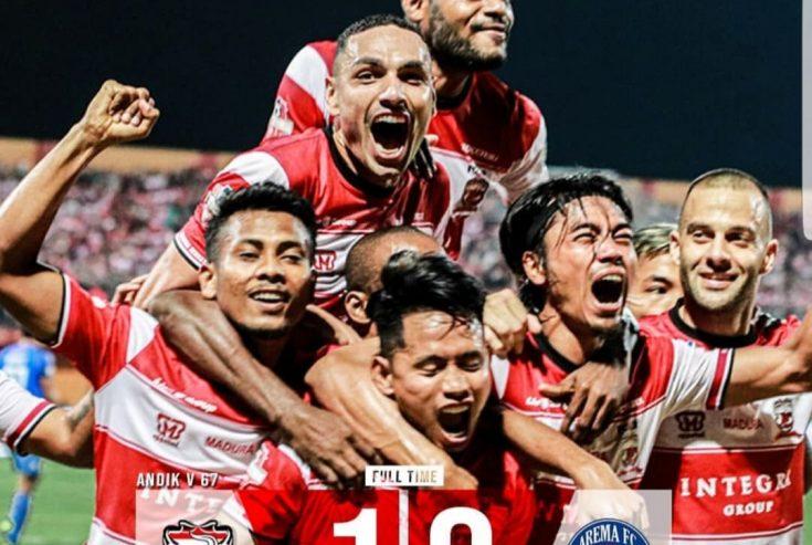 Gol Semata Wayang Andik Vermansyah Bungkam Arema FC