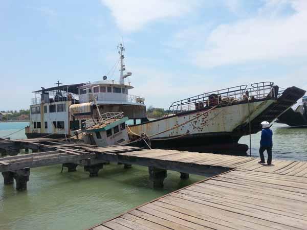 Lama Mangkrak, Kapal DBS II Dijual pada Pengusaha Besi Tua Rp 5,8 Miliar?