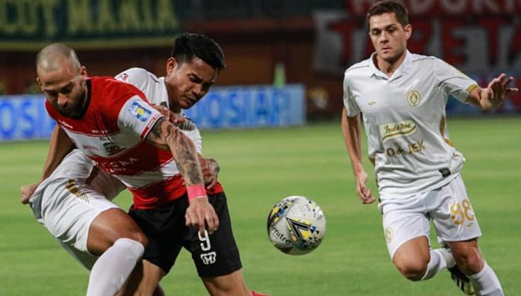 Dejan Antonic Sedih Madura United Kalah dari PSS Sleman