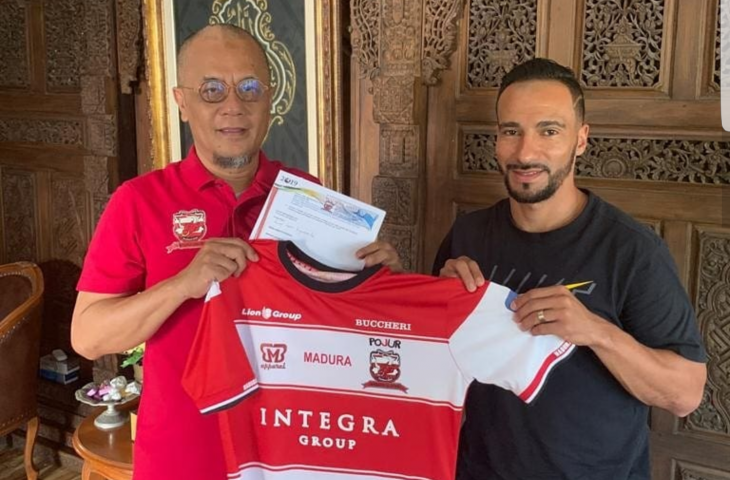 Madura United Resmi Ikat Kontrak Diego Assis