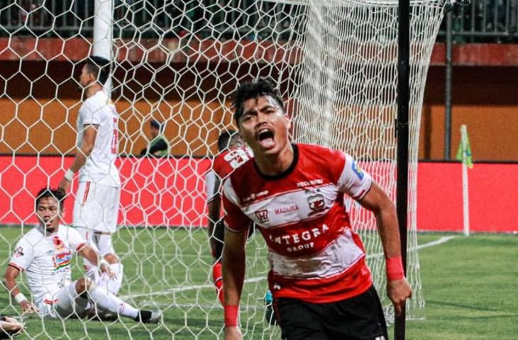 Persija Jakarta Paksa Madura United Berbagi Poin
