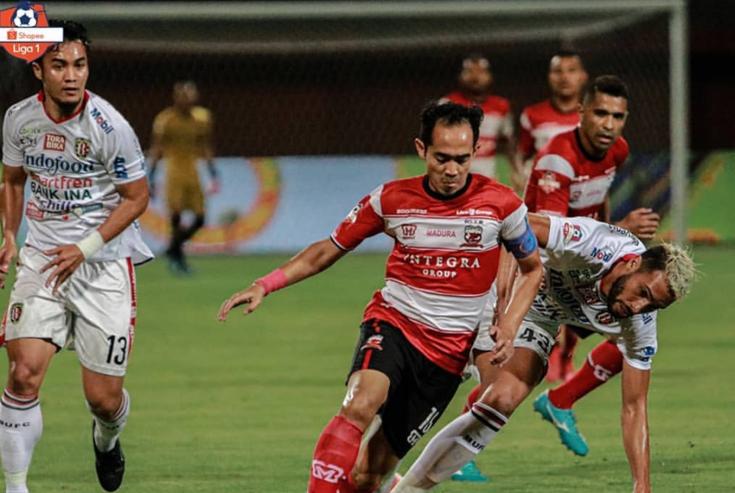 Madura United Kalah, Jaimerson Dikartu Merah