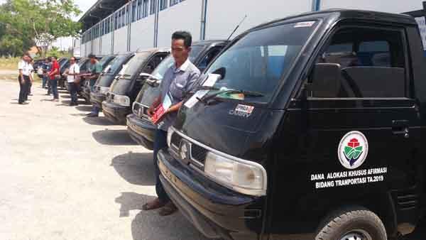 Mobil Angkutan Pedesaan Diserahkan ke Kepala Desa, Ini Imbauan Kadishub Bangkalan