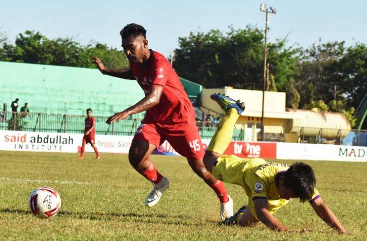 Berlangsung Sengit, Ini Skor Sementara Madura FC Kontra Persik Kediri