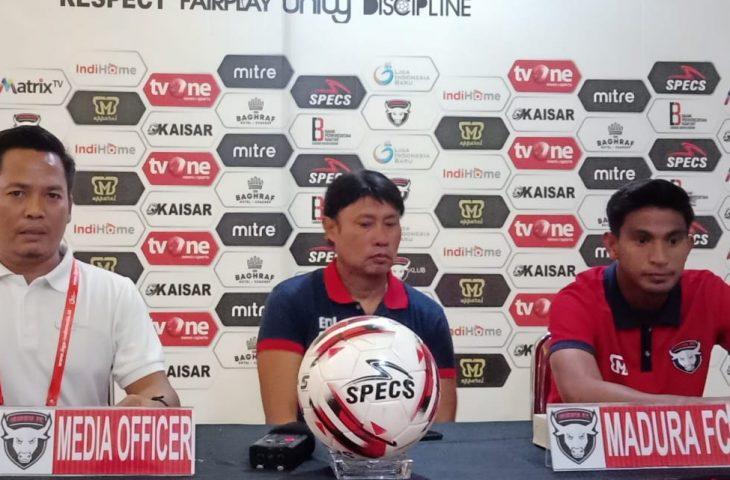 Madura FC Siap Hadapi Persik yang Ingin Tunjukkan Pertandingan Menarik
