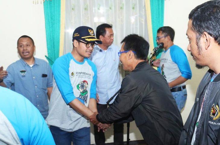 Pelantikan PWI Bangkalan, Bupati Minta Pers Sajikan Data Aktual dan Akurat