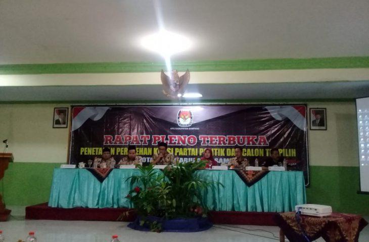 Dua Gugatan Sengketa Pemilu Ditolak MK, KPU Sampang Tetapkan Calon Terpilih Anggota DPRD