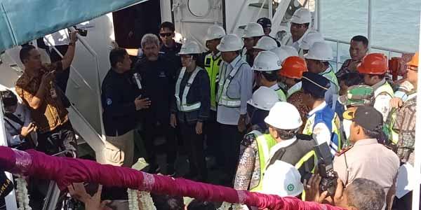 """Kapal RS Terapung Resmi """"Dilepas-layarkan"""" di Pelabuhan Kalianget"""