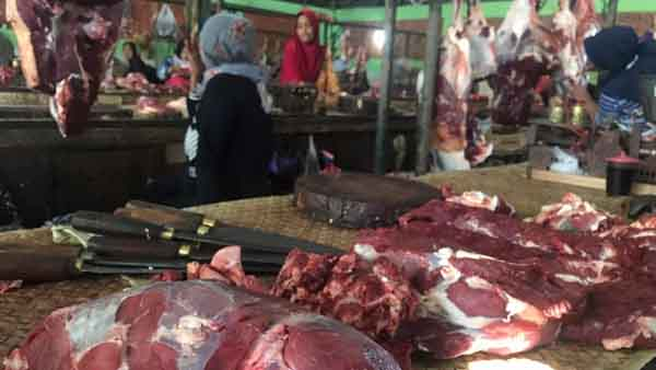 Jelang Idul Adha, Harga Daging di Sumenep Merangkak Naik