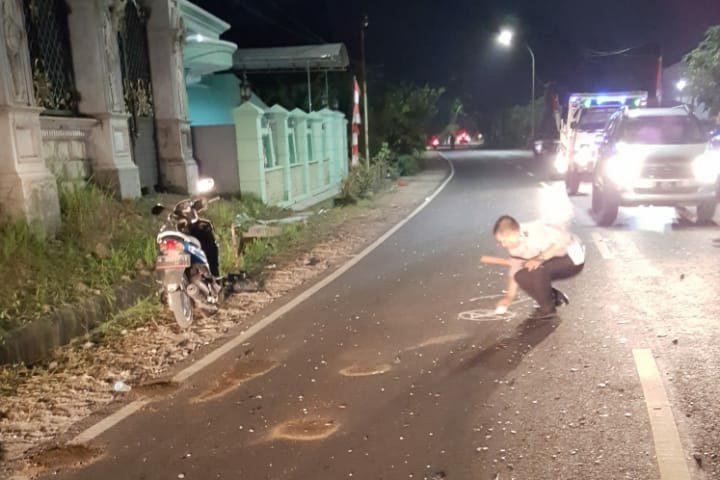 Laka Maut Tiga Kendaraan di Bangkalan, Dua Mahasiswa Tewas