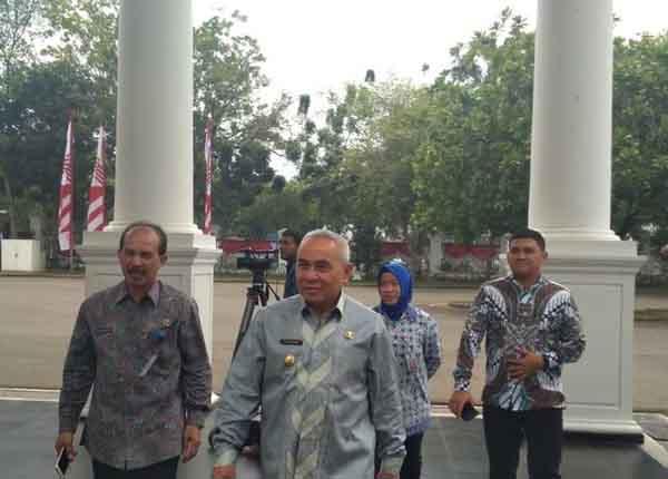 Jelang Pengumuman Ibu Kota Baru, Gubernur Kaltim Kunjungi ke Istana