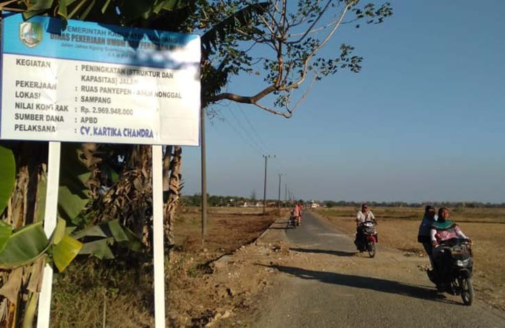 Minim Pengawasan, Pengerjaan Jalan Bernilai Miliaran Rupiah di Sampang Diduga Tak Transparan