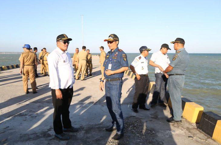 10 Tahun Dibangun, Pelabuhan Taddan Sampang Akhirnya Segera Beroperasi
