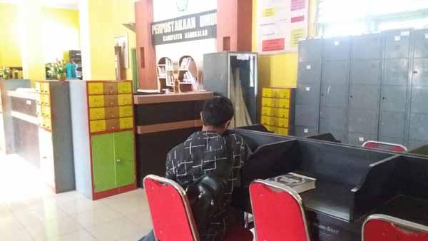 Perpusda Bangkalan Dikeluhkan Mahasiswa, Ini Sebabnya
