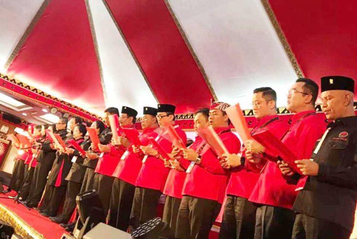 Ini Susunan Pengurus DPP PDI Perjuangan 2019-2024