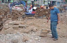 Pembangunan Rest Area Diminta Disetop karena Ada Batuan Candi