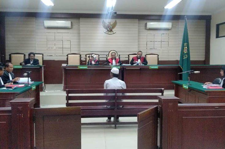 Korupsi Berjemaah SMPN 2 Ketapang, Abd Azis Dituntut 18 Bulan Penjara dan Denda Rp 50 Juta