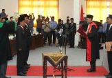 Gelar Paripurna, Empat Pimpinan Definitif DPRD Sampang Resmi Disumpah