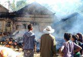 Diduga Korsleting Listrik, Dapur dan Sebagian Rumah Nahrawi di Sampang Terbakar